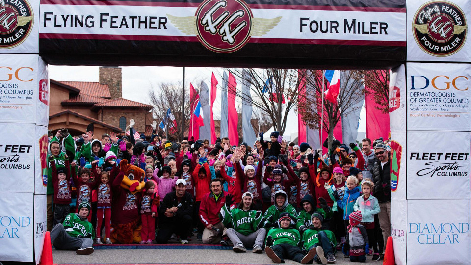 The Flying Feather Four Miler